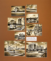 "The Picture Panel contains eight of the images from the series and is 20"" x 24"" in size."