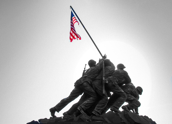 Arlington: IWO Jima Memorial (Marine Corps War Memorial)