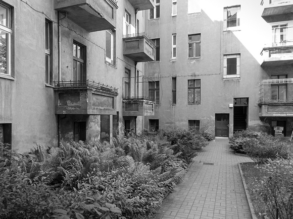 Courtyard in Pankow