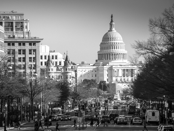 Washington D.C.: Capitol and Pennsylvania Avenue